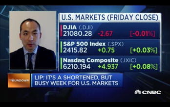 Expect the market to react favorably to US data this week, says investor