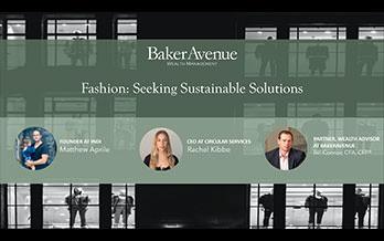 Fashion: Seeking Sustainable Solutions
