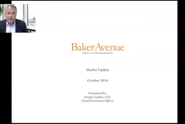October 2019 Market Update