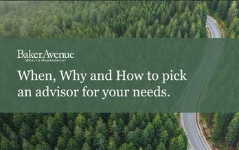 Choosing a Wealth Advisor: What, When Where