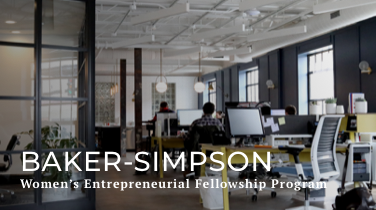 Baker-Simpson Women's Entrepreneurial Leadership Program